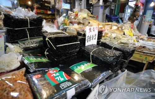 今年韩国紫菜出口刷新纪录
