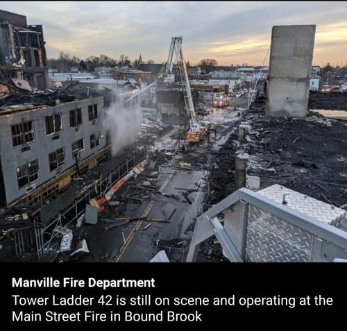 美뉴저지 주상복합 공사장서 대형화재…3천가구 단전