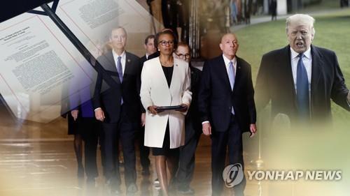 트럼프 탄핵심리 내일 본격 돌입…첫날부터 증인채택 격돌 전망