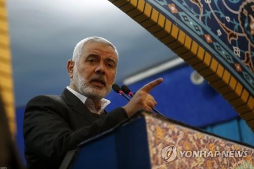 팔레스타인 하마스 미 중동평화구상 실패할것…새 투쟁 경고(종합)