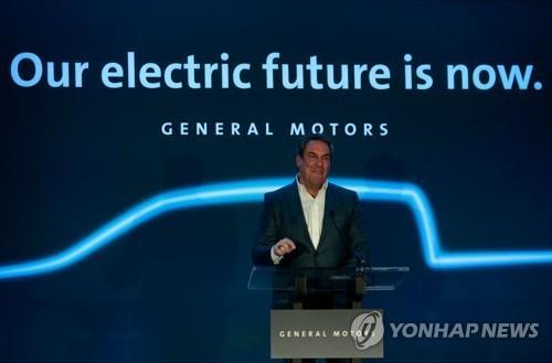 GM, 전기차·자율차에 30억불 투자…우린 미래 건설중