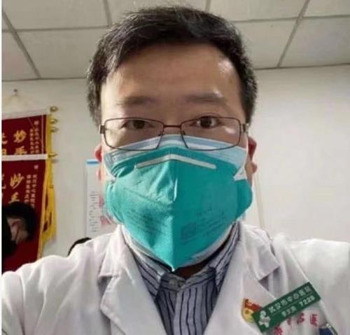 신종코로나 첫 경고한 중국 의사 리원량 사망