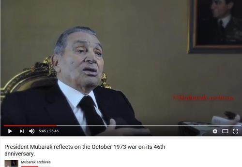 30년 독재자 무바라크 이집트 전 대통령 91세로 사망(종합2보)