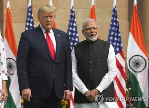 印·美, 국방·에너지 협력 강화 합의…트럼프 무역적자는 커(종합)