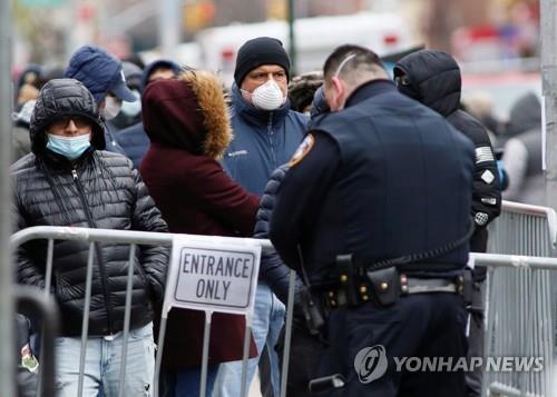 미 코로나19 환자 6만명 넘어…미국인 절반 자택대피령 영향권