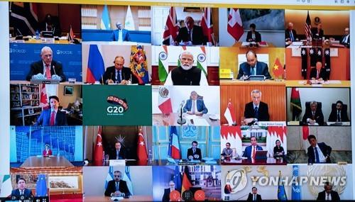 G20 4월15일까지 코로나19 행동계획…저소득국 채무위험 대응(종합2보)