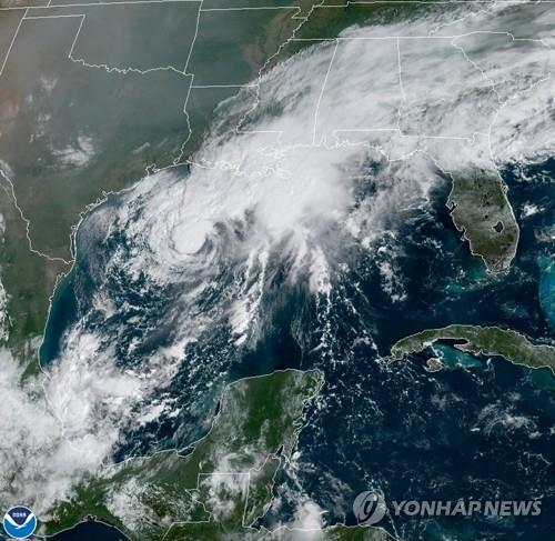 텍사스에 열대성 폭풍 접근…'허리케인 감시' 발령