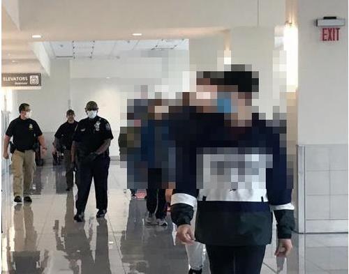 미 SK배터리 공장 불법취업 한국근로자 13명 체포…추방될 듯(종합)