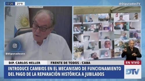 화상회의 중 아내와 스킨십 걸린 아르헨티나 의원 즉각 사퇴