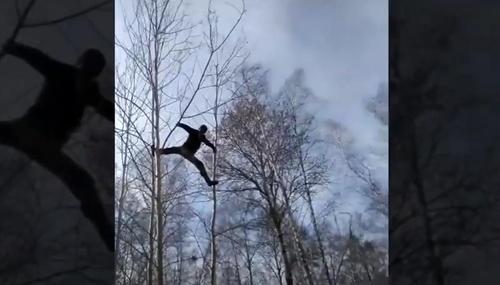 화상 강의 들으려 8m 나무에 올라…러 농촌 대학생 사연