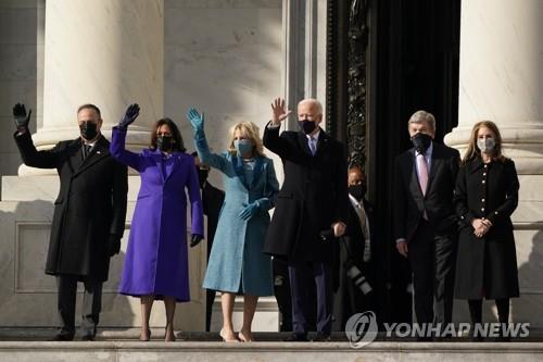 [2보] 바이든, 제46대 美대통령 취임…바이든 시대 개막
