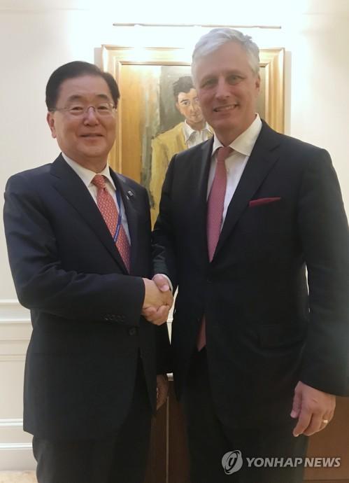 美국무부, 남북경협 美 반대 日 보도에 남북협력 지지 표명
