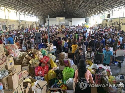 필리핀 화산폭발 장기화 우려…마스크 품귀, 유엔에 지원요청