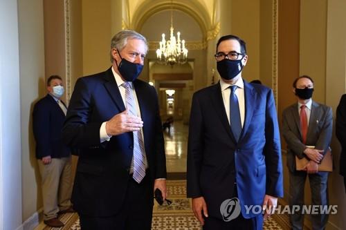 미 공화당, 1천200조원 경기부양안 마련…추가 실업수당은 축소