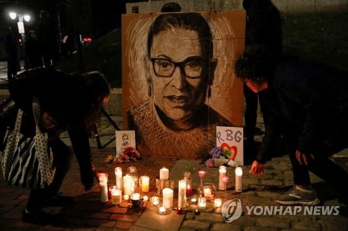 미 공화당, 대선전에 새 대법관 인준 추진…한달만에 속전속결