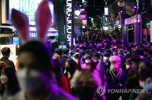 핼러윈 공포?, 거리두기 사라진 이태원·강남역