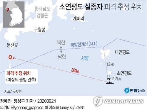 韩青瓦台称朝鲜射杀韩公民不违背九一九军事协议