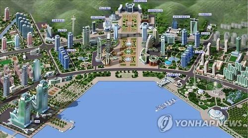 朝鲜元山拟建金融办公楼五星酒店