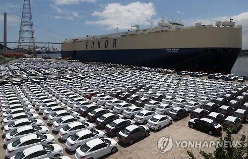 韩整车厂商8月销量创7年来同月最低
