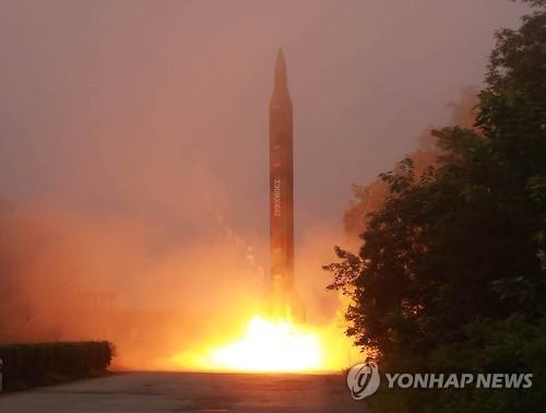 """简讯:朝鲜""""国庆""""前夕试射3枚弹道导弹"""