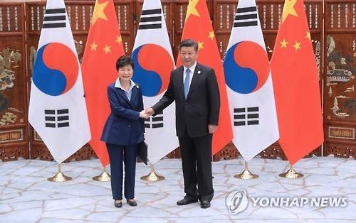 详讯:韩中领导人会晤 朴槿惠望两国加强沟通巩固关系