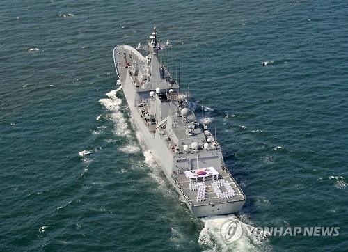 韩海军巡航训练战团开启107天海洋之旅