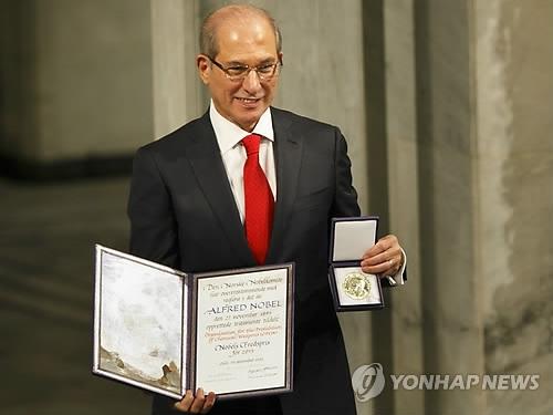 韩防长将在首尔会见禁止化学武器组织总干事