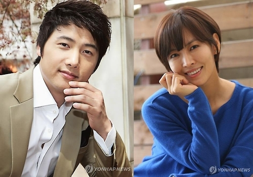 李尚禹(左)和金素妍