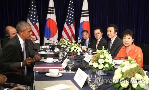 简讯:韩美首脑商定维持包括部署萨德在内的对朝威慑力