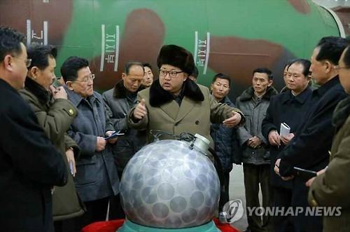详讯:韩军分析朝鲜人工地震是否由核爆引起