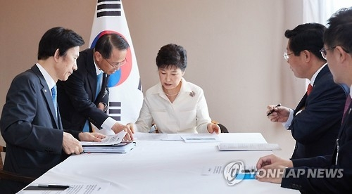 朴槿惠因朝鲜核试提前结束出访回国