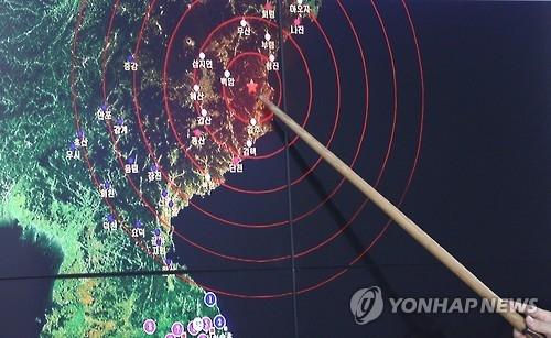 韩军认为朝鲜随时可进行第六次核试验