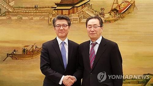 六方会谈韩中团长通话商讨朝核试对策