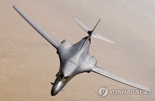 美B-1B轰炸机飞临半岛计划因天气被推迟