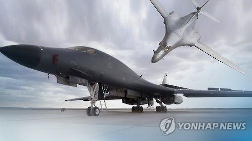 美B-1B轰炸机明日将飞临半岛对朝武力示威