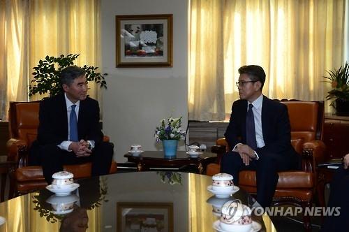 六方会谈韩美团长:尽一切手段加强对朝施压
