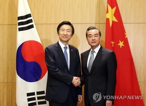 韩外长今晚同中俄外长通话商讨朝核试应对方案