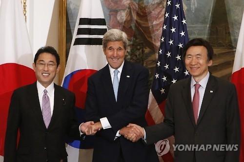 韩美日外长18日纽约会晤商讨朝核试应对方案