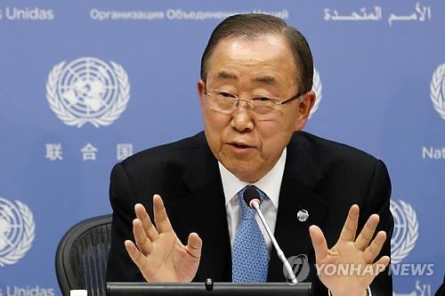 潘基文称韩拥核论不可取