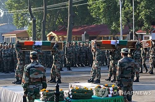 韩政府强烈谴责印巴恐袭事件