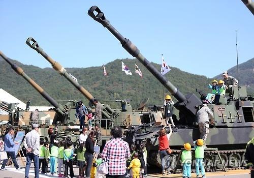 2016韩国陆军庆典下月2日开幕