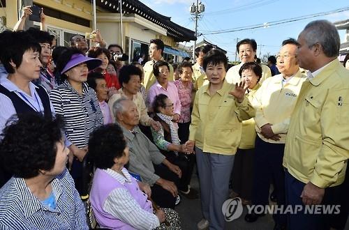 韩政府计划将庆州市指定为特别灾区