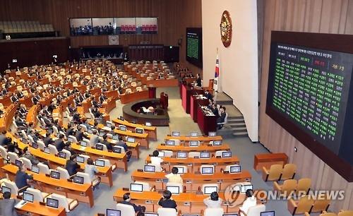韩国国会通过谴责朝鲜第五次核试决议