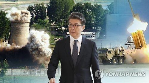 六方会谈韩中团长在京商讨朝核对策