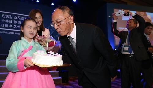 首届韩中日体育部长会议纪念演出获好评