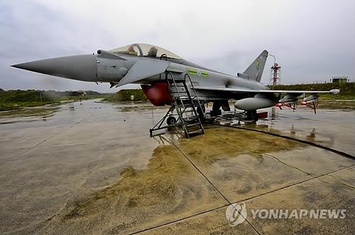 韩美英空军11月首次联演 台风战机做客韩日