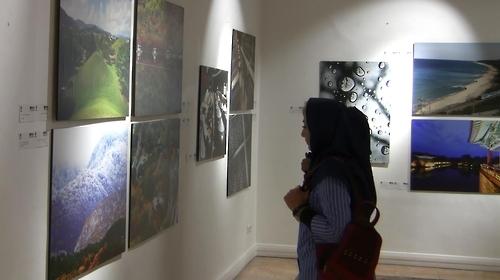 韩联社伊通社合办图片展在德黑兰收官