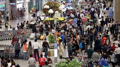 2016年前8月访韩中国游客较2014年同期增36%