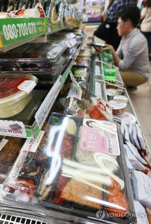 韩便利店盒饭热销成大米消费大户