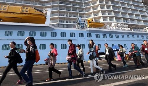 2016年前9月乘邮轮访韩游客同比增130%